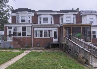 Casa en ejecución hipotecaria in Brooklyn, MD, 21225,  MAUDE AVE ID: F4530973