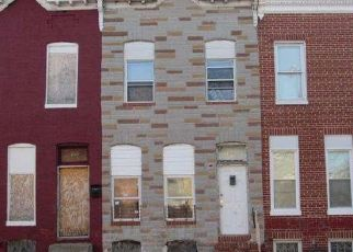 Casa en ejecución hipotecaria in Baltimore, MD, 21213,  N CHESTER ST ID: F4533812