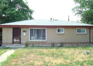 Foreclosure Home in Aurora, CO, 80011,  VAUGHN ST ID: P1019626