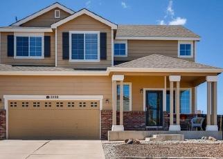 Casa en ejecución hipotecaria in Peyton, CO, 80831,  WOODALL SPA RD ID: P1058973