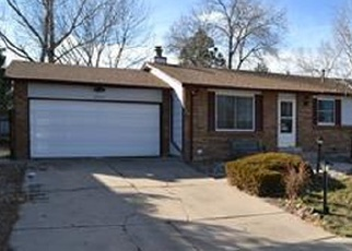 Foreclosure Home in Littleton, CO, 80123,  S GARLAND WAY ID: P1063257