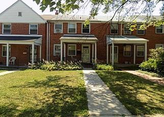 Foreclosed Home en NASCO PL, Baltimore, MD - 21239