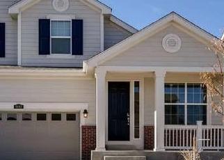 Casa en ejecución hipotecaria in Parker, CO, 80134,  SASSAFRAS ST ID: P1293013