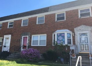 Foreclosed Home en SHAMROCK AVE, Baltimore, MD - 21206