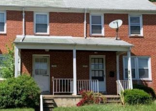 Foreclosed Home en CEDARCROFT RD, Baltimore, MD - 21239