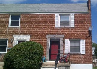 Foreclosed Home en SPRINGWOOD AVE, Baltimore, MD - 21206