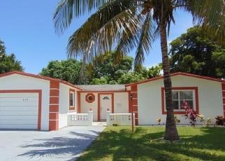 Foreclosed Home in SW 70TH WAY, Pompano Beach, FL - 33068
