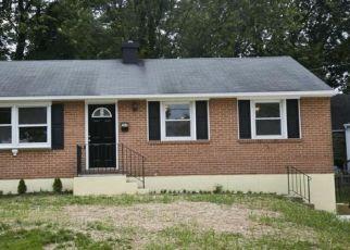 Casa en ejecución hipotecaria in Catonsville, MD, 21228,  VALCOUR RD ID: P1328775