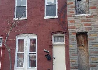 Casa en ejecución hipotecaria in Baltimore, MD, 21218,  BRENTWOOD AVE ID: P1396164