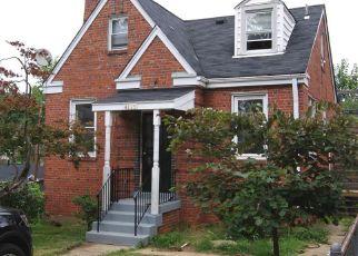 Casa en ejecución hipotecaria in Bladensburg, MD, 20710,  54TH ST ID: P1398741