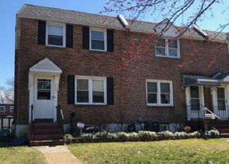 Foreclosure Home in Claymont, DE, 19703,  GREEN ST ID: P1467349