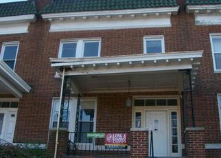 Casa en ejecución hipotecaria in Baltimore, MD, 21218,  E 33RD ST ID: P1485252