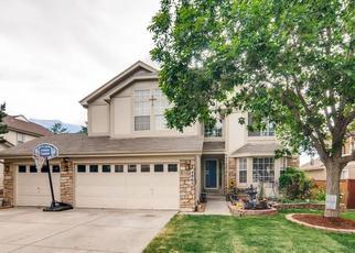 Casa en ejecución hipotecaria in Castle Rock, CO, 80109,  N SUNGOLD LN ID: P1501591