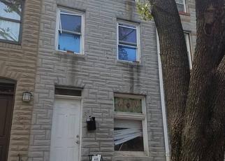Casa en ejecución hipotecaria in Baltimore, MD, 21231,  S WASHINGTON ST ID: P1554345