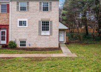 Casa en ejecución hipotecaria in Crofton, MD, 21114,  SHREVE CT ID: P1603668