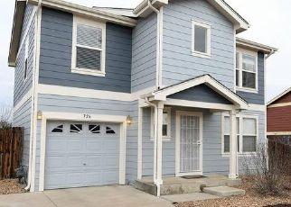Casa en ejecución hipotecaria in Brighton, CO, 80603,  CANYON LN ID: P1638254