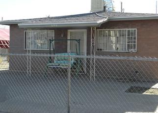 Foreclosure Home in El Paso, TX, 79905,  CLEVELAND AVE ID: P1645304