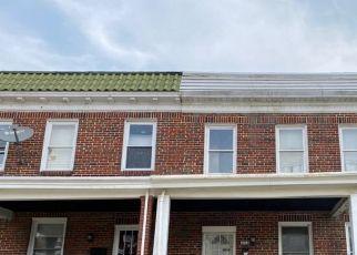 Casa en ejecución hipotecaria in Baltimore, MD, 21213,  PELHAM AVE ID: P1645698