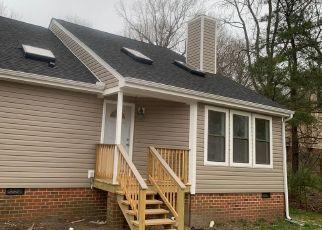 Casa en ejecución hipotecaria in Chester, VA, 23831,  EVELYN DR ID: P1723173