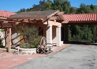 Casa en ejecución hipotecaria in Santa Paula, CA, 93060,  WHEELER CANYON RD ID: P1744063