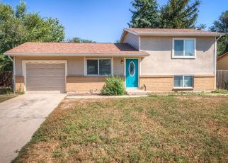 Casa en ejecución hipotecaria in Colorado Springs, CO, 80916,  ANJELINA CIR W ID: P1810219