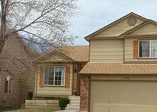 Casa en ejecución hipotecaria in Fountain, CO, 80817,  WOODSONG WAY ID: P1823284
