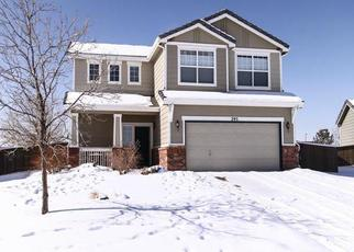 Casa en ejecución hipotecaria in Castle Rock, CO, 80104,  PEABODY ST ID: P1829574