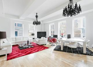 Foreclosed Home in BROAD ST, New York, NY - 10005