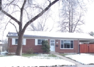 Foreclosure Home in Englewood, CO, 80110,  W CHENANGO AVE ID: P962374