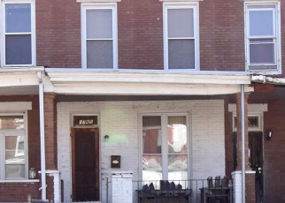 Foreclosed Home en MONTPELIER ST, Baltimore, MD - 21218