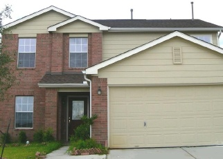 Foreclosed Home in CLARETFIELD CT, Humble, TX - 77338