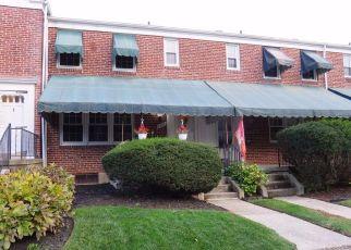 Casa en ejecución hipotecaria in Towson, MD, 21286,  DEVERON RD ID: S70185834