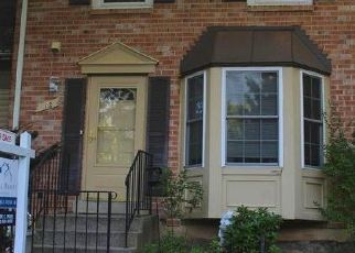 Foreclosed Home en MATEUS WAY, Gaithersburg, MD - 20878