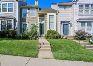 Foreclosed Home en SUGARBERRY CT, Gaithersburg, MD - 20879