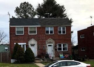 Casa en ejecución hipotecaria in Baltimore, MD, 21206,  TODD AVE ID: S6327824