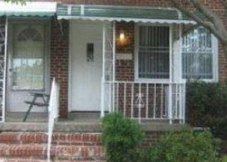 Foreclosed Home en NICHOLAS AVE, Baltimore, MD - 21206